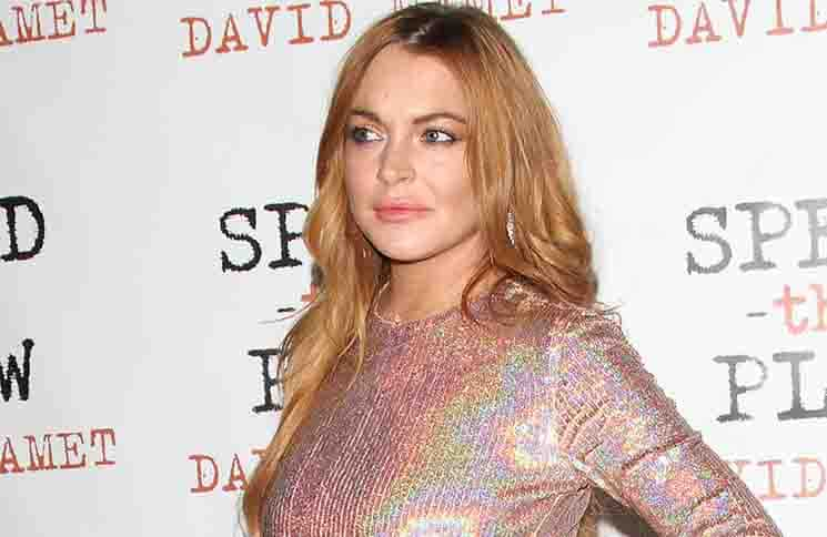 "Lindsay Lohan - ""Speed the Plow"" UK Press Night Afterparty"