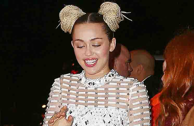 "Miley Cyrus - ""A Very Murray Christmas"" New York Premiere"
