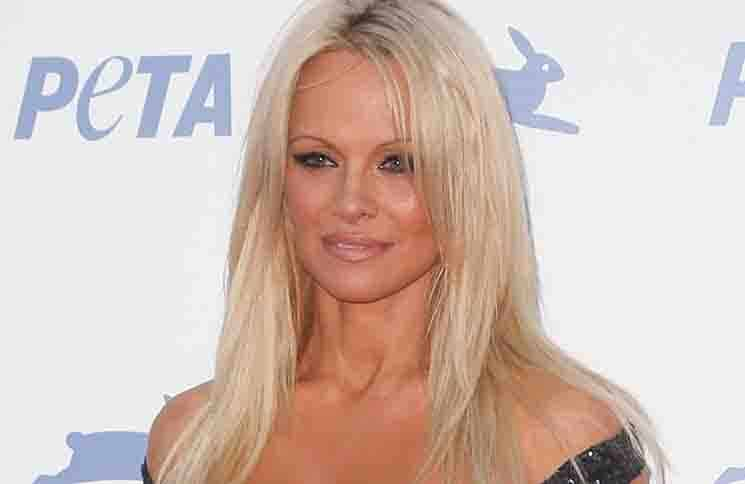 Pamela Anderson - PETA's 35th Anniversary Party