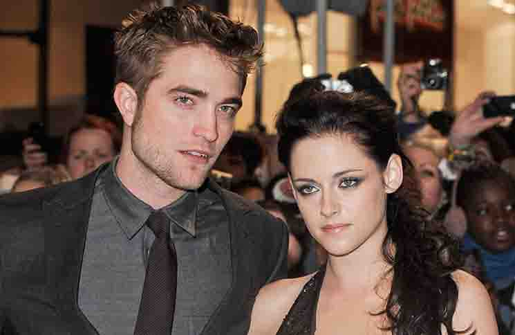 "Robert Pattinson and Kristen Stewart - ""The Twilight Saga: Breaking Dawn Part 1"" UK Premiere"