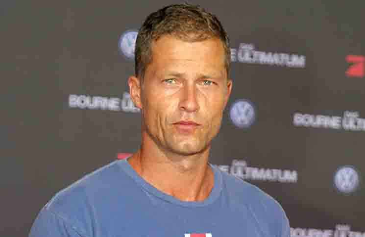 """Til Schweiger bei der Deutschlandpremiere des Filmes : """" The Bourne Ultimatum """" im Kino Cinestar in Berlin"""