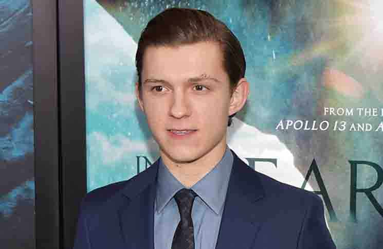 """Tom Holland - """"In the Heart of the Sea"""" New York City Premiere"""
