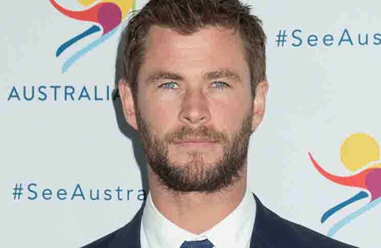 "Chris Hemsworth - ""There's Nothing Like Australia"" Campaign Launch - Celsius at Bryant Park"