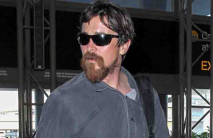 Christian Bale Sighted at LAX Airport on November 21, 2015