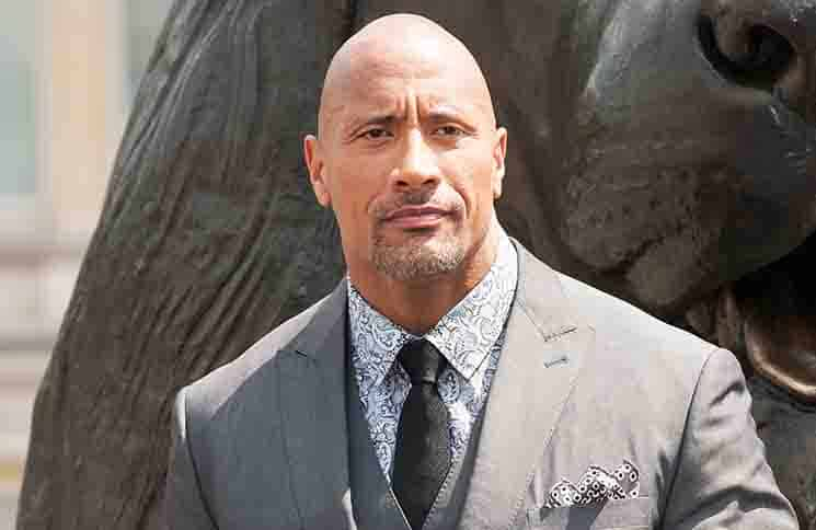 "Dwayne Johnson - ""Hercules"" UK Photocall - Nelson's Column, Trafalgar Square"