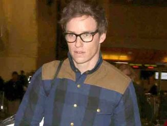 Eddie Redmayne Sighted Arriving at LAX Airport on January 11, 2016