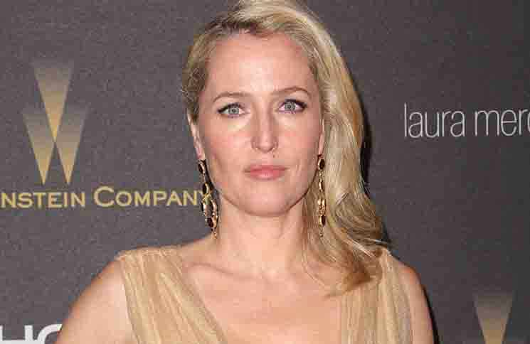 Gillian Anderson - 2016 Weinstein Company and Netflix Golden Globes After Party