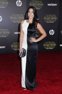 "Gina Rodriguez - ""Star Wars: The Force Awakens"" World Premiere"