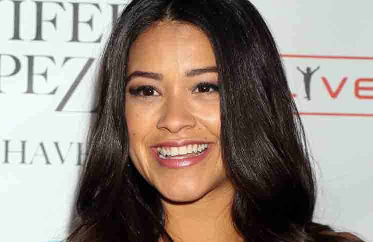 "Gina Rodriguez - ""Jennifer Lopez: All I Have"" Headlining Residency Pre-Show at Planet Hollywood Las Vegas"