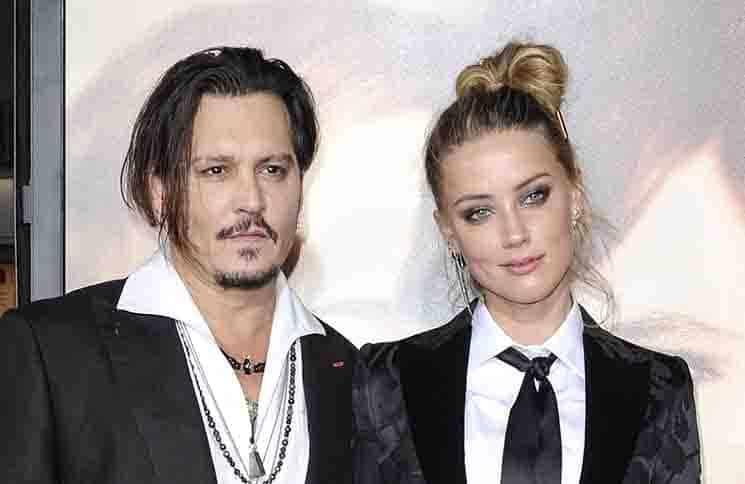 "Johnny Depp and Amber Heard - ""The Danish Girl"" Los Angeles Premiere"