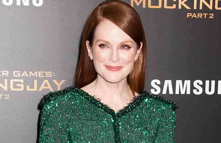 """Julianne Moore - """"The Hunger Games: Mockingjay - Part 2"""" New York City Premiere"""