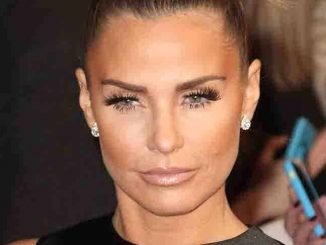 Katie Price - National Television Awards 2016