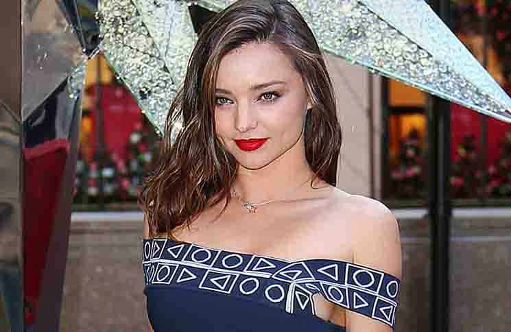 Miranda Kerr - Swarovski Star Raising for 2015 Rockefeller Center Christmas Tree