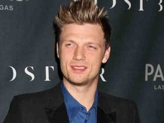 Nick Carter Coed Bachelor and Bachelorette Party at Ghostbar in Las Vegas on February 8, 2014
