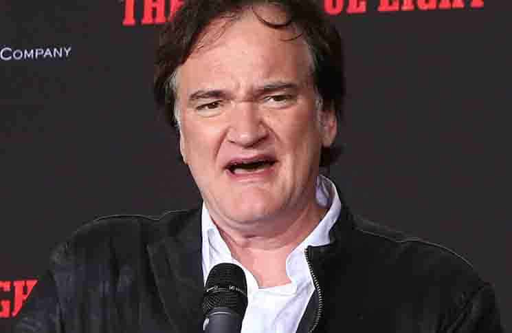 Quentin Tarantino Hand and Footprint Ceremony