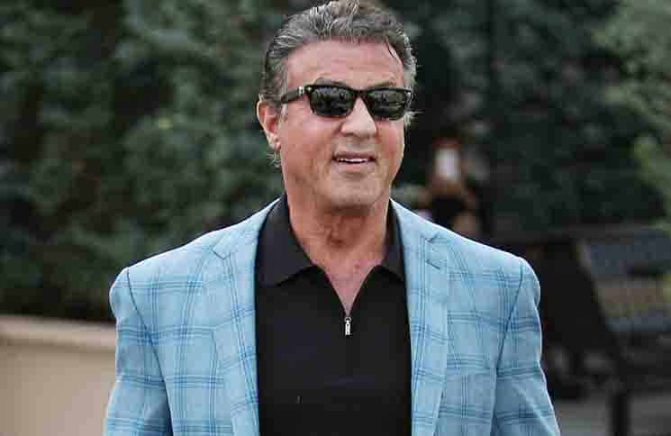 Sylvester Stallone Sighted in Los Angeles on January 21, 2016