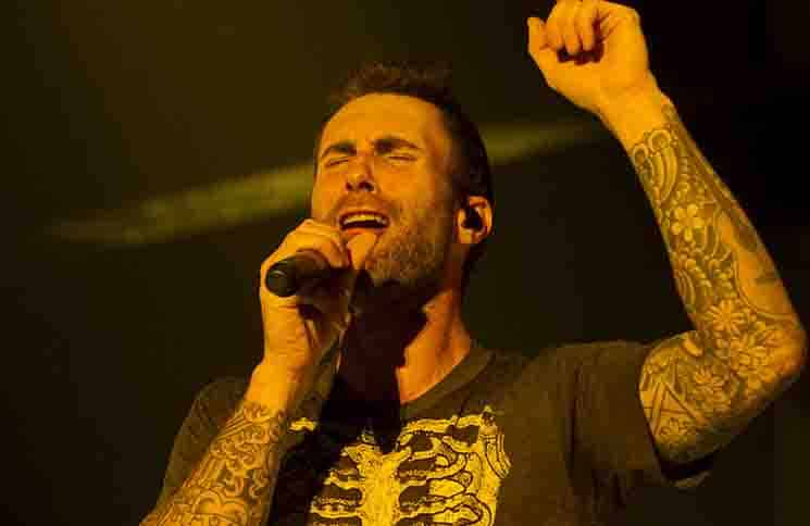 Adam Levine - Maroon 5 in Concert at the Barclaycard Center in Madrid - June 15, 2015