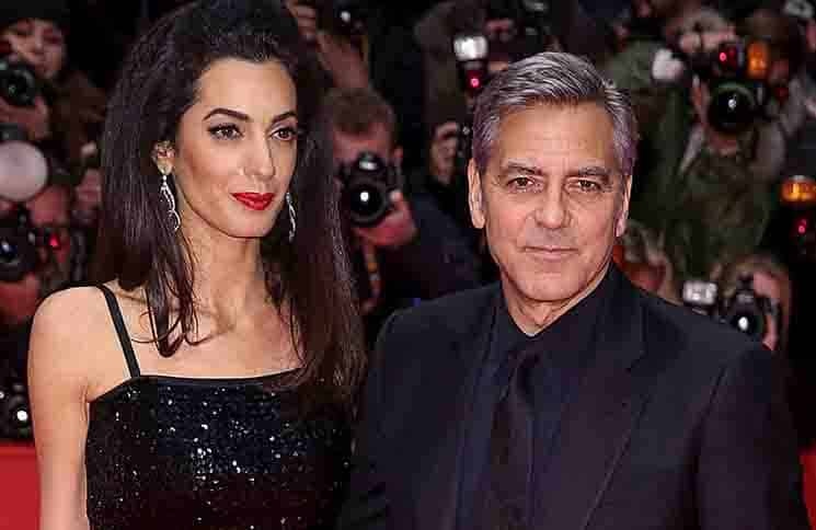 Amal Clooney, George Clooney - 66th Annual Berlinale International Film Festival