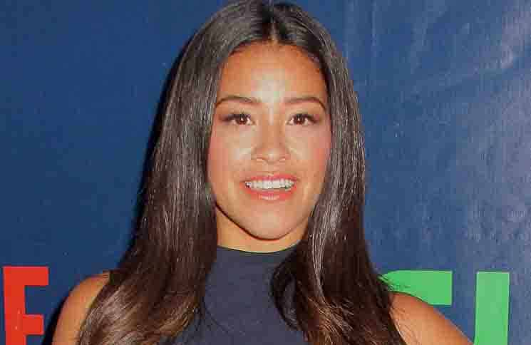 Gina Rodriguez - CBS, CW and Showtime 2015 Summer TCA Party