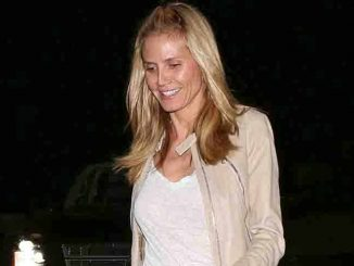 Heidi Klum Sighted in Los Angeles on January 15, 2016