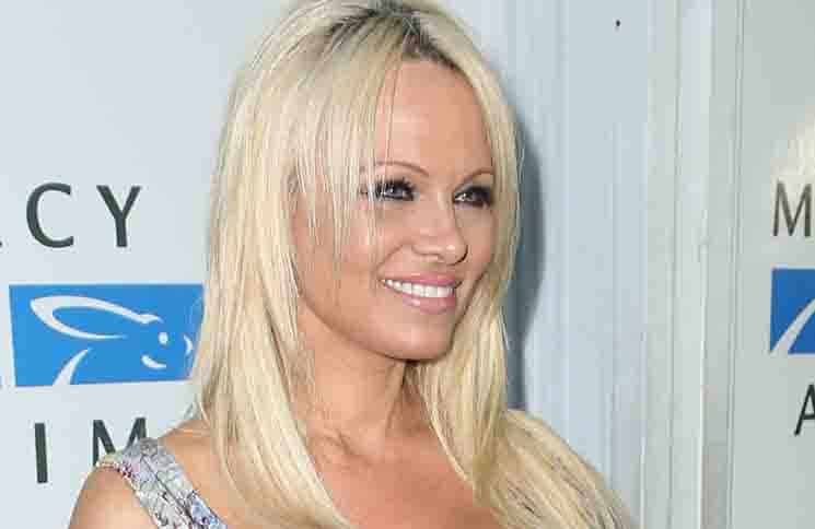 Pamela Anderson - Mercy for Animals' Hidden Heroes Gala at Unici Casa in Culver City