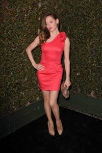 Rose McGowan - Valentino Flagship Opening on Rodeo Drive