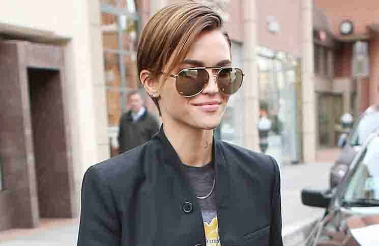 Ruby Rose Sighted in Los Angeles on January 11, 2016