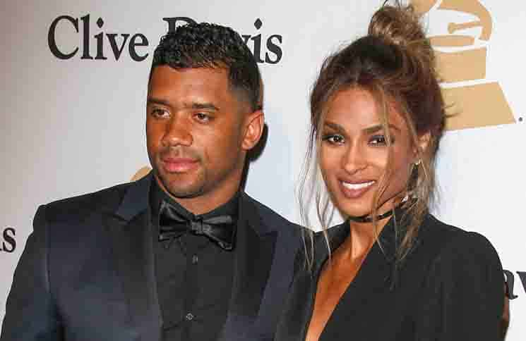 Ciara, Russell Wilson - 2016 Clive Davis Pre-Grammy Gala and Salute to Industry Icons