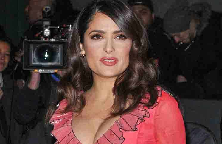 Salma Hayek - British Fashion Awards 2015 - Arrivals
