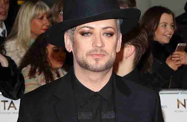 Boy George - National Television Awards 2016