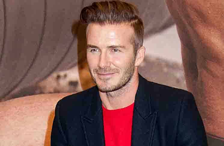 David Beckham and H&M Introduce Bodywear Appear in New York City on February 1, 2014