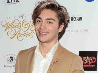 George Shelley - 16th Annual WhatsOnStage Awards