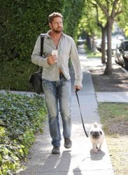 Gerard Butler Sighted in Los Angeles on July 23, 2015