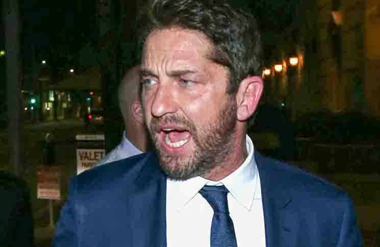 Gerard Butler - Celebrity Sightings at Boulevard3 Nightclub in Hollywood