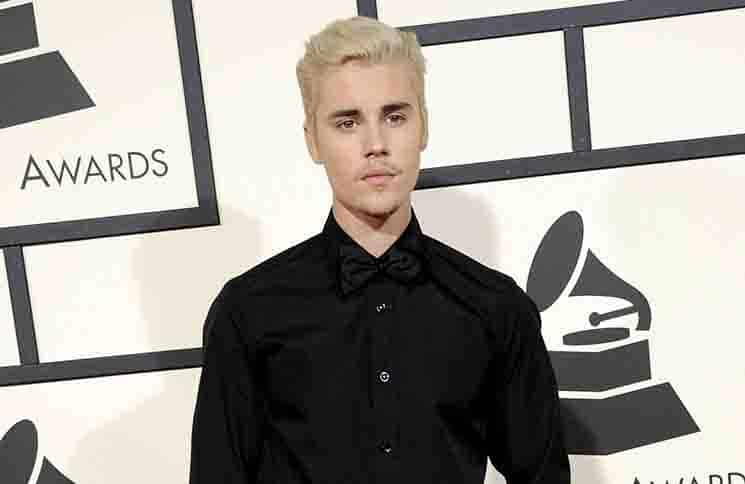 Justin Bieber - The 58th GRAMMY Awards - Arrivals