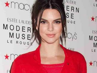 "Kendall Jenner Launches New Estee Lauder Fragrance ""Modern Muse Le Rouge"" at Macy's Herald Square"