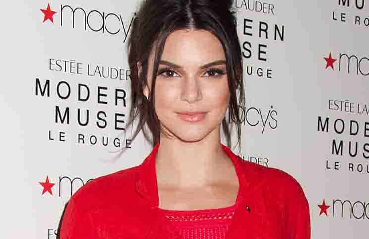 """Kendall Jenner Launches New Estee Lauder Fragrance """"Modern Muse Le Rouge"""" at Macy's Herald Square"""