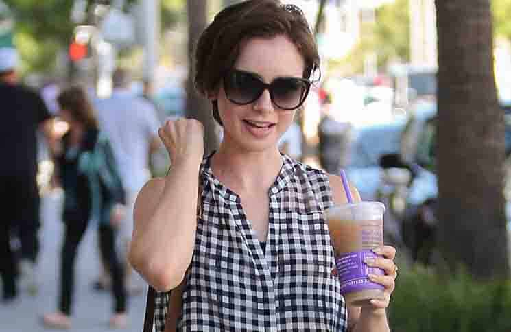 Lily Collins Sighted in Los Angeles on October 1, 2015