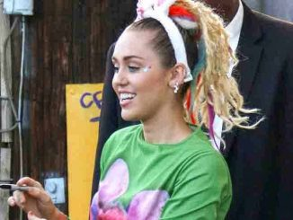 Miley Cyrus Sighted in Los Angeles on August 26, 2015