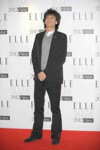 Ronnie Wood - Elle Style Awards 2012