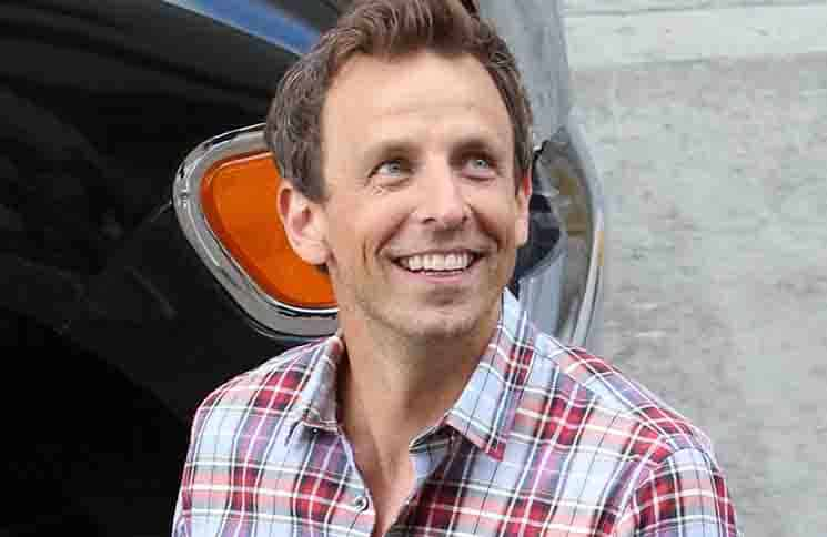 Seth Meyers - Comic-Con International San Diego 2015 - Day 4