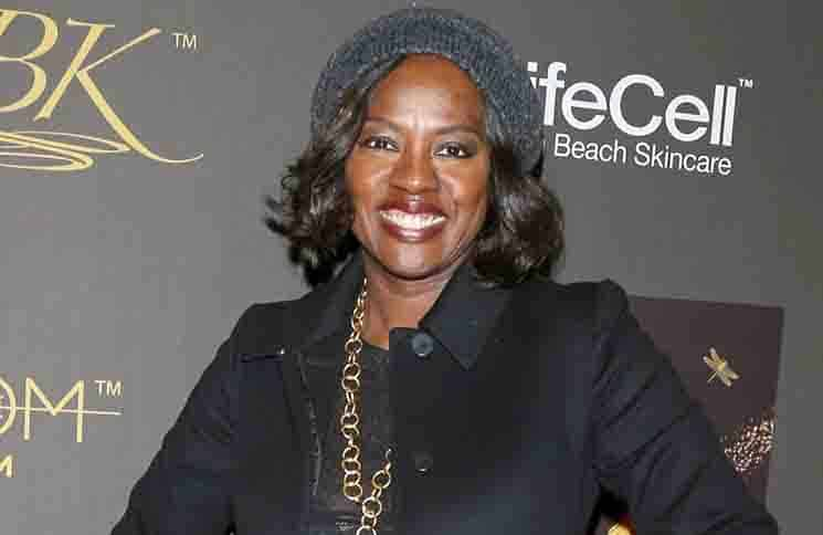 Viola Davis - 2016 GBK Pre-Golden Globe Luxury Gift Lounge