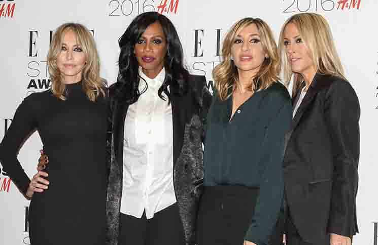 All Saints - Elle Style Awards 2016