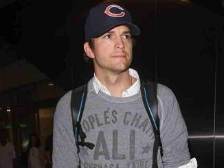 Ashton Kutcher Sighted at LAX Airport on August 27, 2015