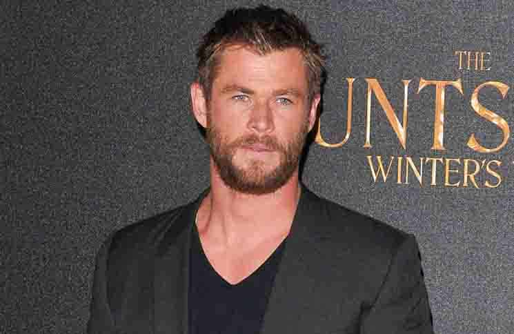 "Chris Hemsworth - ""The Huntsman: Winter's War"" UK Photocall"