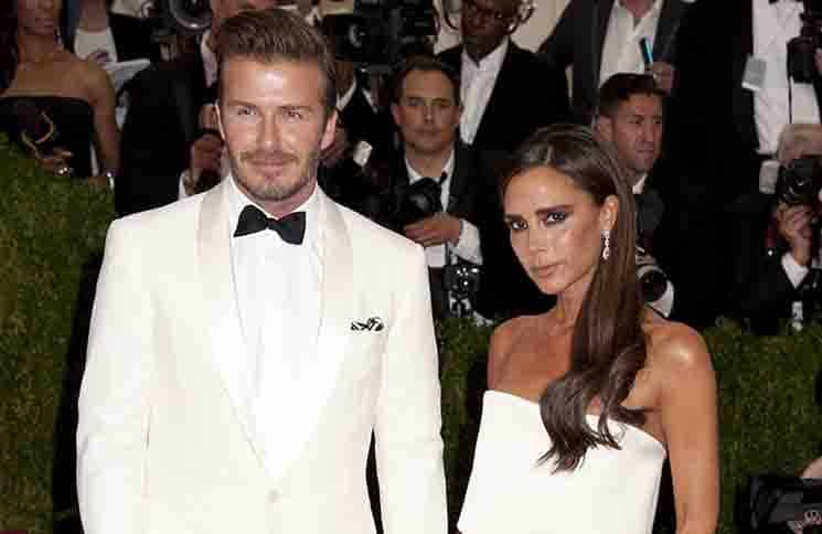 "David Beckham, Victoria Beckham - ""Charles James: Beyond Fashion"" Costume Institute Gala"
