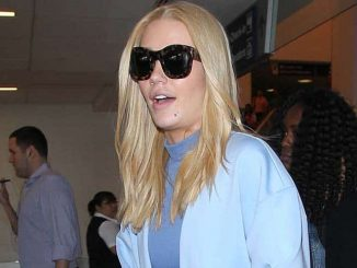 Iggy Azalea Sighted Arriving at LAX Airport on April 21, 2016