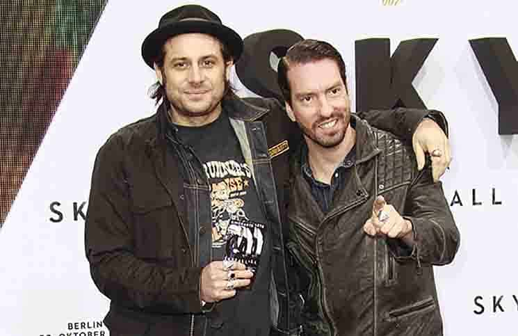 The BossHoss - 'Skyfall' Berlin Premiere on October 30, 2012