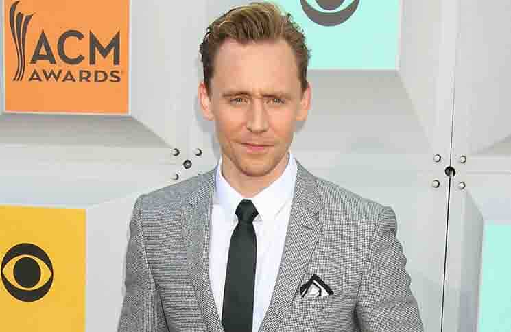 Tom Hiddleston - 51st Academy of Country Music Awards