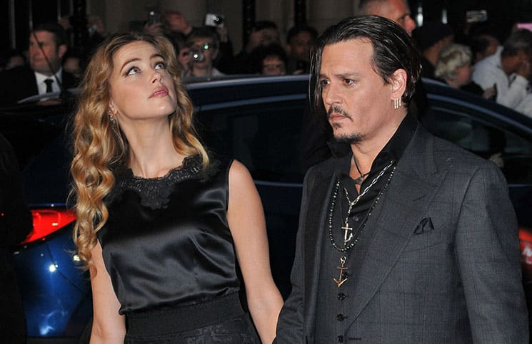 Johnny Depp and Amber Heard - 59th Annual BFI London Film Festival